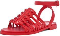 GIVENCHY Gladiator Sandal in Red - Lyst