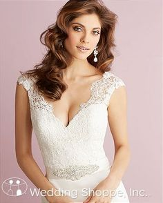 Bridal Gowns Allure Romance 2715 Bridal Gown Image 3