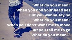"""Unplugged: What Do You Mean? (An NJCASA Media Literacy blog series) How does Justin Bieber's song """"What Do You Mean?"""" promote consent and healthy sexuality?"""