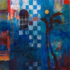 Enjoy the lovely work of Karen Stamper Mix Media, Moroccan Art, Moroccan Colors, Collage Art Mixed Media, Contemporary Abstract Art, Fantastic Art, Art Journal Inspiration, Types Of Art, Figurative Art