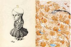 """Joanna Concejo's Illustrations for """"The Wild Sw... - Book Artists and Their Illustrations - Quora"""