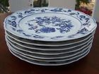BLUE DANUBE FINE PORCELAIN DINNER PLATES SET of 8 BLUE ONION EX CONDITION JAPAN - http://glass-pottery.goshoppins.com/pottery-china/blue-danube-fine-porcelain-dinner-plates-set-of-8-blue-onion-ex-condition-japan/