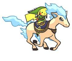 Link & Pokemon Crossover #Pikachu #Nintendo #Gaming #GIF