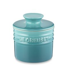 A fixture in European kitchens, this vessel keeps butter fresh and spreadable at the breakfast table or countertop. Le Creuset Stoneware is an extremely strong and durable choice for serving and storing, as it resists chips, cracks and stains and … Cocotte Le Creuset, Le Creuset Cookware, Le Creuset Stoneware, Stoneware Crocks, Butter Crock, Butter Dish, Butter Pasta, Butter Icing, Cookie Butter