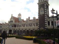 Dunedin, NZ. The. railway station