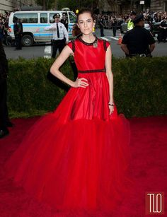 6282158f644 2015 Met Gala Elegant Prom Dresses Met Ball Soft Tulle Satin Red Evening  Gowns Long Formal Gorgeous Celebrity Red Carpet Gowns Long Lace Prom Dresses  ...