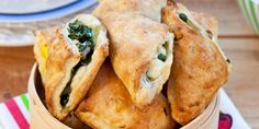 Spinach and Mushroom Hand Pies