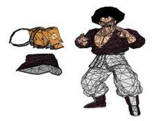 Dragon Ball - Mr. Satan Free PaperCraft Download