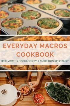 Everyday Macros is a macro-friendly meal prep cookbook. Macro Nutrition, Diet And Nutrition, Macro Friendly Recipes, Macro Recipes, Clean Eating, Healthy Eating, Macro Food List, Meal Plan Printable, Macro Meal Plan