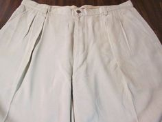 "Men's Tommy Bahama Light Khaki ""Relax""  Shorts Sz 38 100% silk #TommyBahama #CasualShorts"
