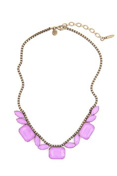 16 Candy-Colored Necklaces For Spring #refinery29  http://www.refinery29.com/statement-jewelry#slide7  Loren Hope Blythe Necklace, $88, available at Tuckernuck.