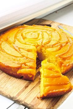 Orange-Mango Upside-Down Cake -- looks absolutely amazing can't wait to try!!