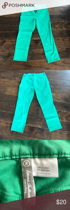 Kelly Green crop skinny jeans Hanna Andersson crop jeans - so soft! Hanna Andersson Jeans Skinny