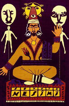 SEYYİD NESİMÎ (ö. 1417) 14.-yy Hurûfi Türk şairi. Azerbaycan Türkçesi ile yazdığı şiirleri, ile tanınan Hurufi inançlı şair.  İllüstrasyon Halil Karasu Comic Books, Comics, Cover, Cartoons, Cartoons, Comic, Comic Book, Comics And Cartoons, Graphic Novels