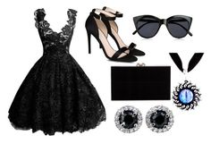 """Prom combination"" by caleb-hogan-330 ❤ liked on Polyvore featuring STELLA McCARTNEY, Le Specs and Charlotte Olympia"