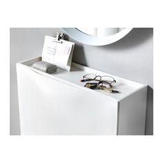 TRONES Kenkä-/säilytyskaappi - valkoinen - IKEA