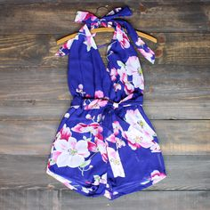 tropical paradise floral romper in violet from shop hearts. Saved to Quick Saves Summer Outfits, Cute Outfits, Summer Clothes, Beach Outfits, Party Outfits, Dance Outfits, Floral Romper, A Boutique, Spring Summer Fashion