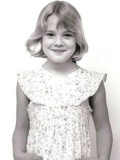 Drew Barrymore, Child Star. She was a star from the movie ET and just love her now!! Came from America's famous actors The Barrymore.'s.. She has done her famous family proud!!!