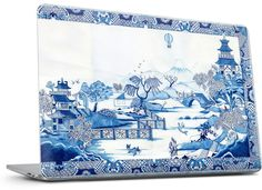 Blue Willow Laptop Skin - Nuvango  - 7
