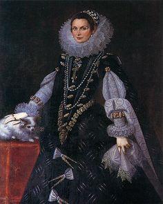 Antonio Rizi, Catalina de Alvarado. Convento de Agustinas Recoletas. Pamplona. look at those sleeves!