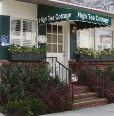 I highly recommend this Tea Cottage. I was anxious to try it because it was rated the Tea House in California. I was not disappointed. Yes, it was quite a drive but completely worth it. It is located in Woodland Hills, CA. Woodland Hills California, California Dreamin', Los Angeles Homes, Best Tea, Abandoned Houses, High Tea, Weekend Getaways, Day Trips, Places To See