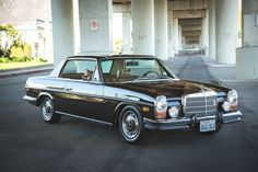 Mercedes Motoring - 1973 280C Gasoline Coupe