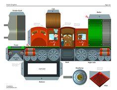 steam engine printable 3d