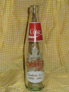 Everett's 50th Anniversary Coke Bottle