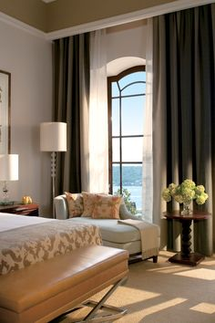 Palace Bosphorus Rooms have hand-painted high ceilings and rich mahogany furniture. #Jetsetter