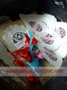 DIY BROWN PAPER GIFT BAGS IMAGES | Qaseh | Azrul Official: DIY : Doorgift dari brown paper bag