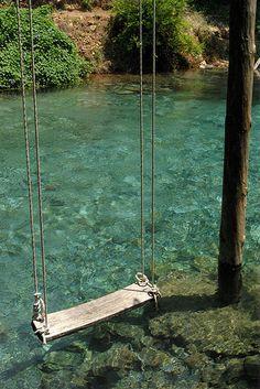 Swing, Dalyan, Turkey!