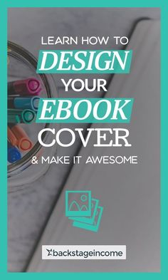 Make awesome design covers for your ebook using Photoshop! Writing Advice, Writing Resources, Blog Writing, Writing A Book, Opt In, Writers Notebook, Writers Write, Book Proposal, Sell Your Books