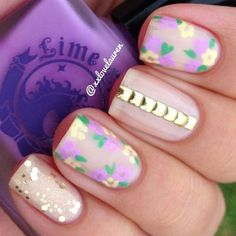 Easy Spring Nail Art Designs, Ideas & Trends For Beginners