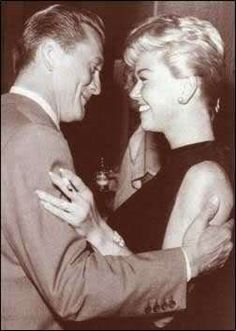 Doris and Kirk Douglas, 1957.