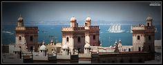 Torres vigías de Cádiz
