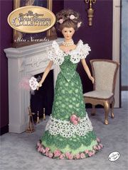 Turn of the Century Bridal Trousseau - Miss November, November Theater Gown - Cotton Thread Crochet