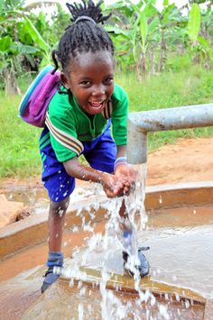 The Welland Primary School in in Mpiggi Uganda now has clean water thanks to their new well. For children in the developing world clean water changes everything. For more information on our work and how you can help please go to www.dropinthebucket.org