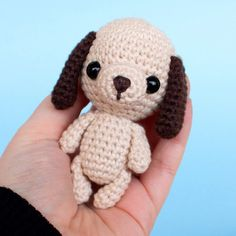 Dog amigurumi crochet pattern