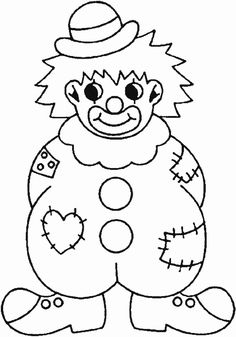 Best Coloring: Sad clown clip art coloring pages - Amazing Coloring sheets - Clown Crafts, Circus Crafts, Carnival Crafts, Free Printable Coloring Pages, Coloring Pages For Kids, Coloring Sheets, Coloring Books, Fish Coloring Page, Clown Faces