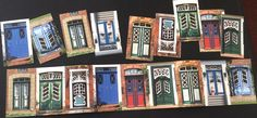 Discrimination visuelle :carte postale/loto les portes
