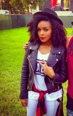 afro curly hair styles my my inspiration my janelle monae looking 9108