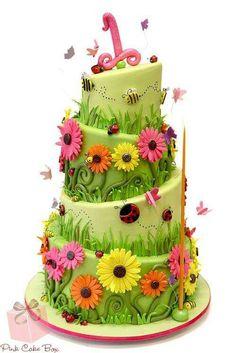 Faerie princess wedding cake