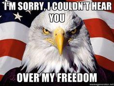 Happy birthday, freedom.