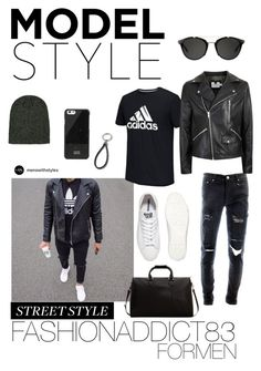 """Sin título #561"" by mar-quintana on Polyvore featuring adidas, Topman, Converse, Carrera, 21 Men, Native Union, MANGO, men's fashion y menswear"