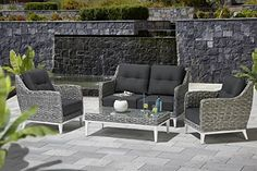 Lounge, Outdoor Furniture Sets, Outdoor Decor, Patio, Home Decor, Garden Architecture, Armchair, Airport Lounge, Homemade Home Decor