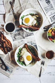 3 Cozy Winter Brunches to Make at Home: Potato Hash + a Sunny Side Up Egg #theeverygirl