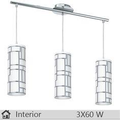 Lustra iluminat decorativ interior Eglo, gama Bayman, model 92563 http://www.etbm.ro/eglo