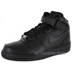 e1934a79 Nike Air Force 1 Mid All Black Sports Shoes Super Deals, Price: $54.83 -  Adidas Shoes,Adidas Nmd,Superstar,Originals