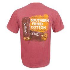090b580f Southern Fried Cotton Shotgun Pocket T-Shirt - Crimson Shotgun, Fries,  Shotguns