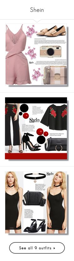 """""""Shein"""" by clumsy-dreamer ❤ liked on Polyvore featuring WithChic, Kate Spade, Boohoo, Betsey Johnson, Miss Selfridge, Tiffany & Co., Chantecler, BaubleBar, Kenneth Jay Lane and Tory Burch"""